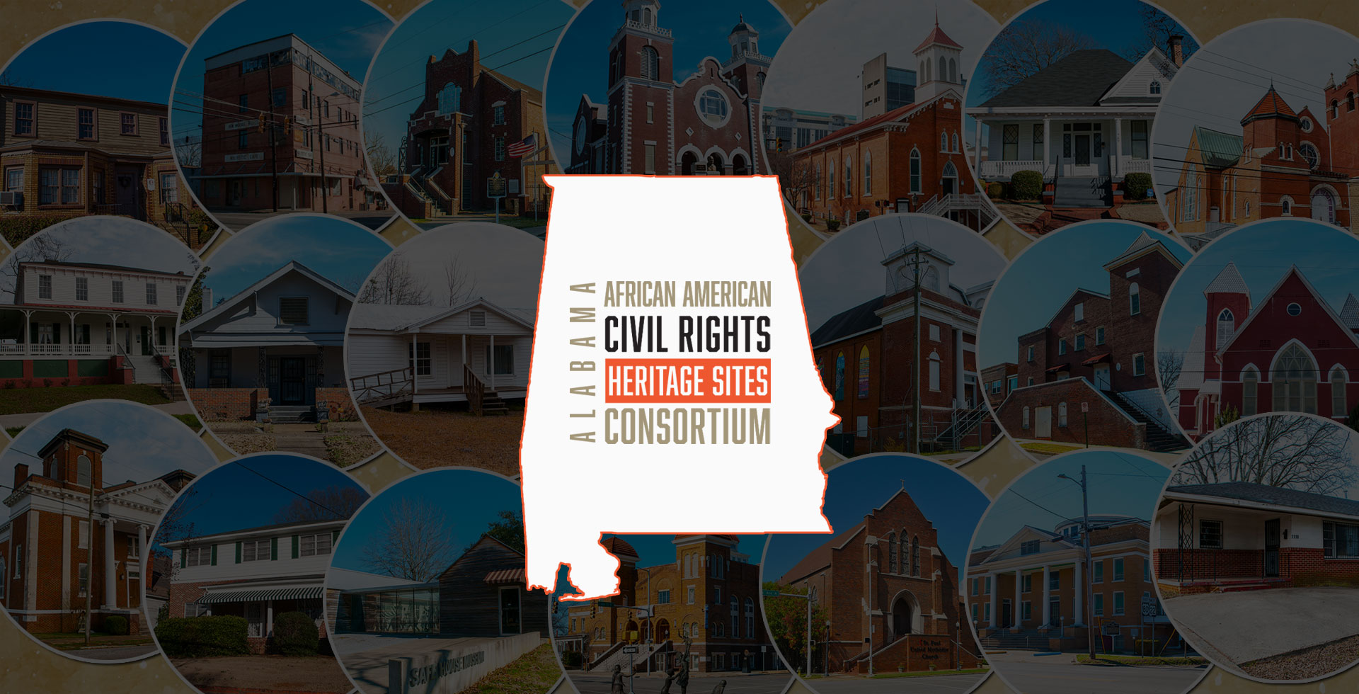 Alabama African American Civil Rights Heritage Sites Consortium logo